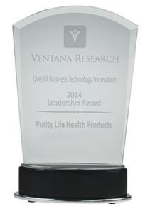 Purity Life Ventana overall business innovation award 2014