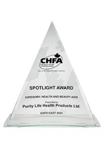 Purity Life Spotlight Award 2004