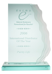 Purity Life International Distributor Of The Year 2006