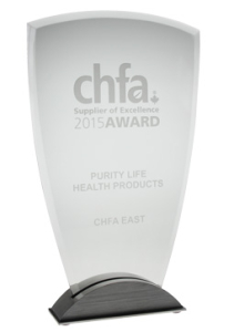 Purity Life Health Products - 2015 CHFA Award
