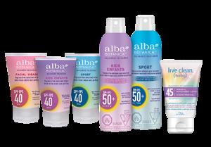 Alba® LIVE CLEAN Sunscreen