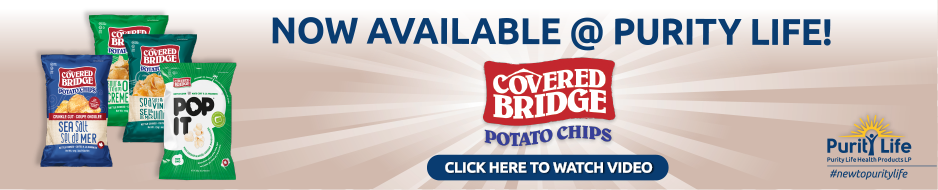 COVERED BRIDGE CHIPS Now Available at Purity Life