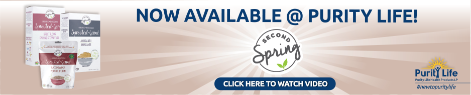 SECOND SPRING FOODS Now Available at Purity Life
